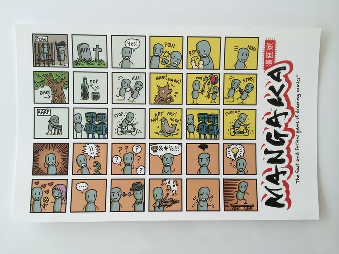 Stickers by Jason Thompson (prototype)