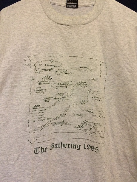 Gathering T-shirt with map