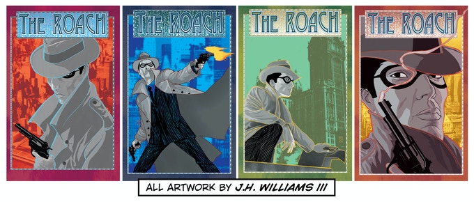 "Noir on STEROIDS--""The Roach"""
