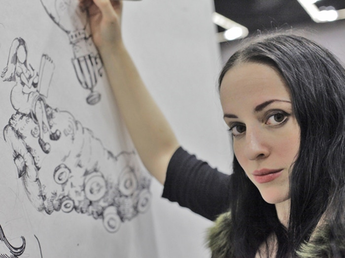 For Molly Crabapple's Week in Hell, I'm locking myself in a room for five days and covering the walls in art