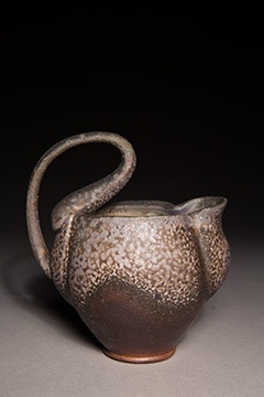 Hannah Meredith, Woodfired Small Pitcher $75
