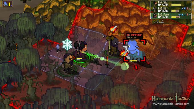 "Fighting an Ogretaur in the swamp.  Screenshot taken from ""Battle Arena"" mod."