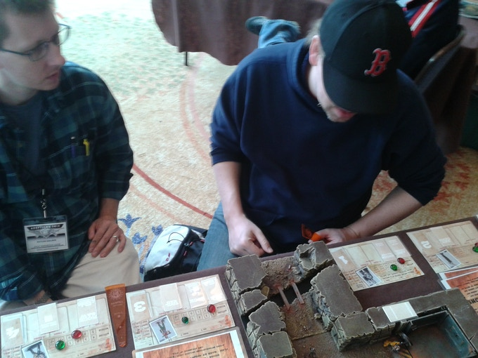 We've come so far! Running demos at AdeptiCon 2015.
