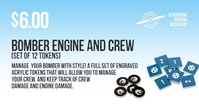 Stretch Goal bonus: two free 3d Engine Damage Tokens
