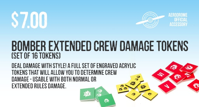 Stretch Goal bonus: two free 3d Engine Damage Tokens
