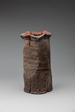 "Scott Parad, Cylinder Vase, 14x7"" $350"