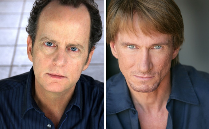 Andrew Sensenig and Bill Oberst Jr.