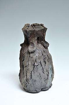 Scott Parady, Malakoff Clay Vase, 9.5x5x5.5 $400