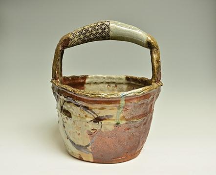 "Scott Parady, Woodfired Well Bucket, 14x11x11.5"" $450"