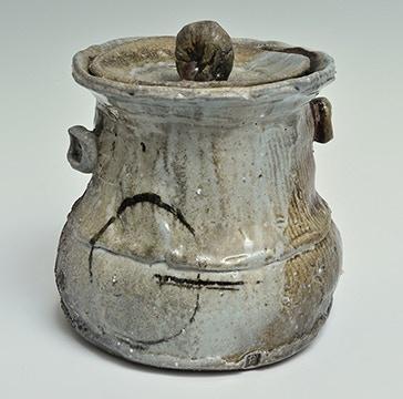 """Scott Parady, Woodfired Water Jar, 8.5x8.5x8.5"""" $500"""