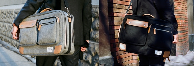 VENQUE BRIEFPACK UTILITY XL- AVAILABLE IN TWO COLORS