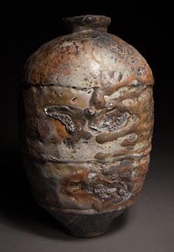 """Scott Parady, Woodfired Jar, 15x9"""" $750"""