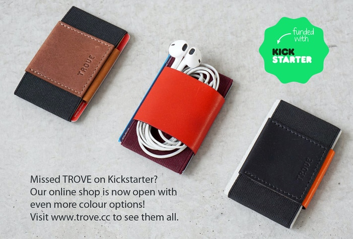 TROVE is the Ultimate Slim Wallet and card case. Made in England by expert craftspeople using the finest materials. Reverse the Rules