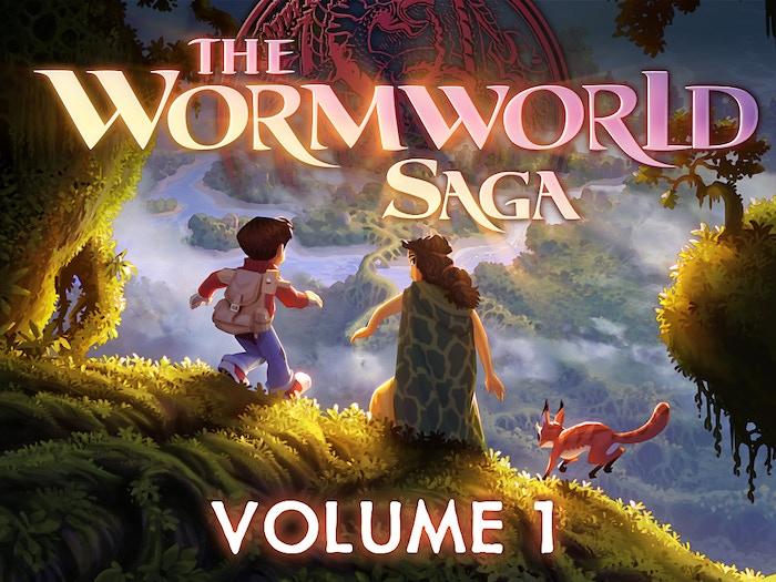 We successfully kickstarted the first English book edition of the Wormworld Saga digital graphic novel!