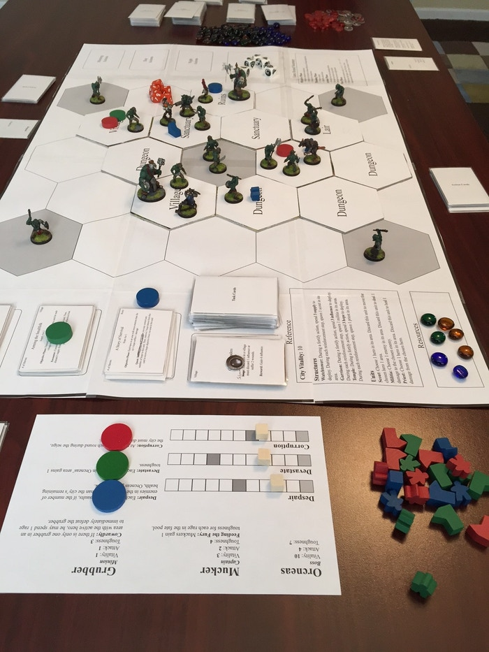 Kickstarter] MYTH Journeyman - News, Rumors, Updates