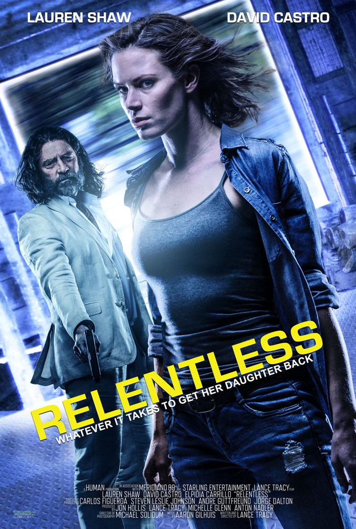 """A Thriller Feature Film called """"Relentless"""" involving Human Trafficking shot in El Salvador and Los Angeles."""