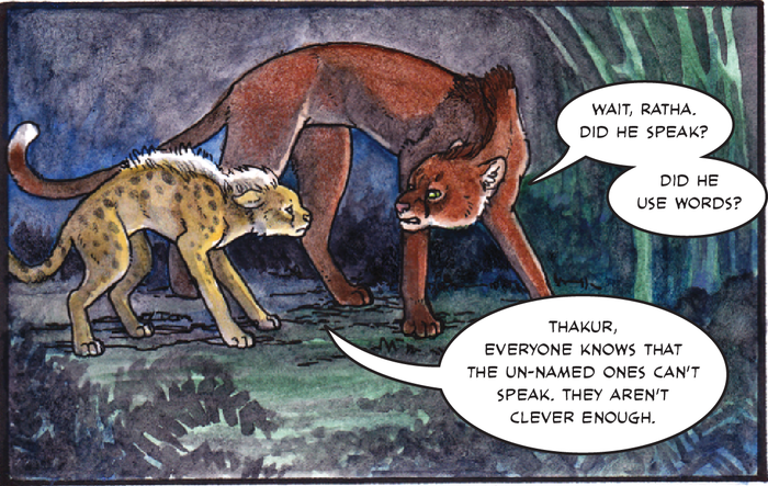 Prehistoric big cat Ratha gets her own graphic novel, 30 years after she first lifted her torch.