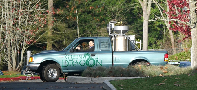 The Green Dragon gasifier fueled vehicle