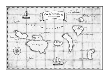 A Map of the Ghost Keys