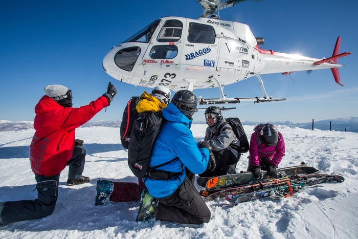 Help us document the first modern helicopter ski and snowboard operation in northern Japan!