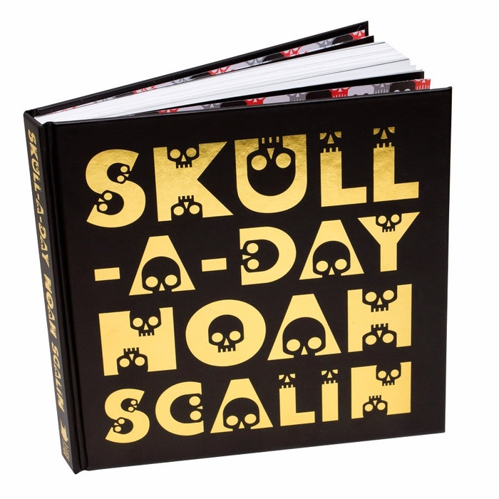 Finally the entire original Skull-A-Day project by Noah Scalin in book form! Including never before seen bonus materials and an foreword from Mütter museum curator Anna Dhody.