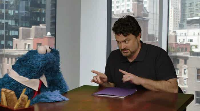 Tim, meet Cookie Monster. Cookie, meet Tim.