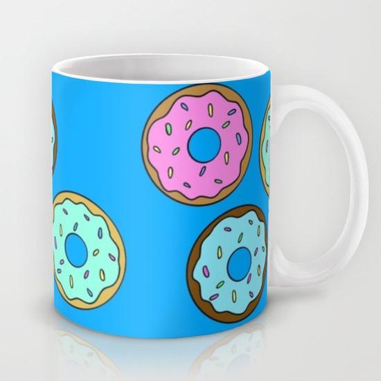 Donuts Mug by Cozy Reverie