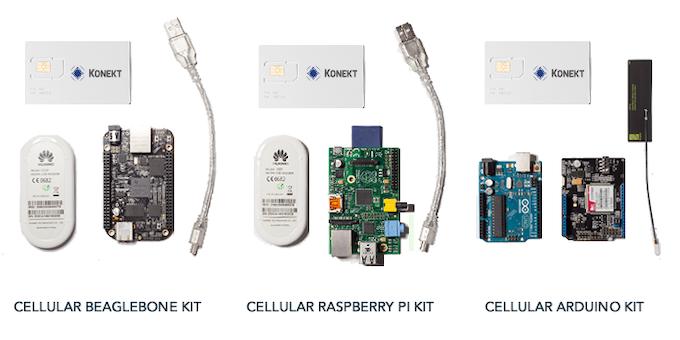 *Pi and Beaglebone Kits come with a Huawei E303 USB Modem