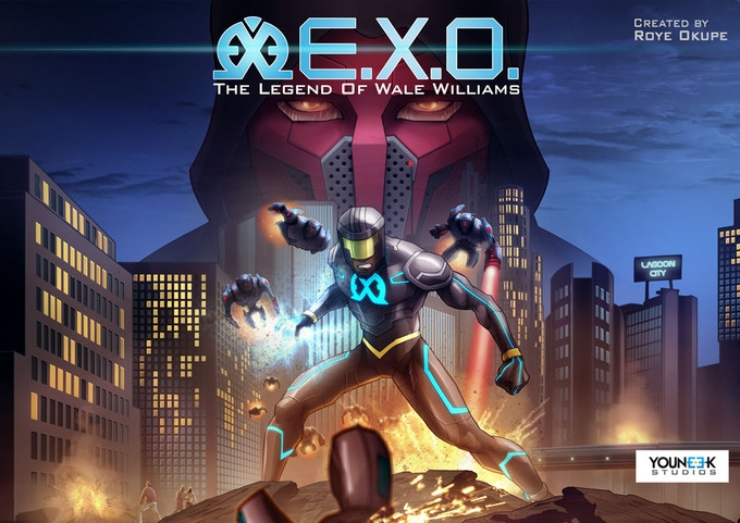E.X.O. - The Legend of Wale Williams Part One Cover Page