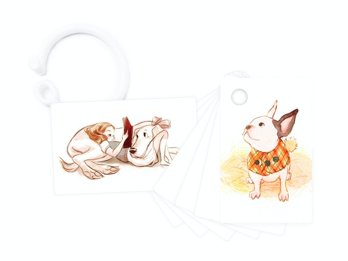 Pets deck mock-up, using placeholder sketches