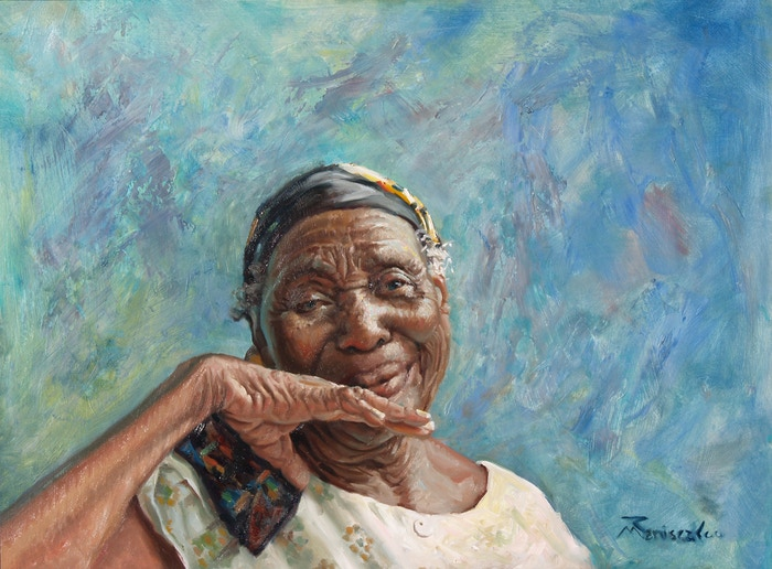 I am creating an exhibition of paintings, expressing hope and renewal from my Vision Trip to Haiti last November, with Water Missions International, from Kickstarter funding. Thanks to all my supporters!
