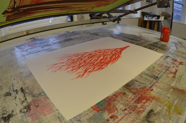 Finished 'Vessel' print