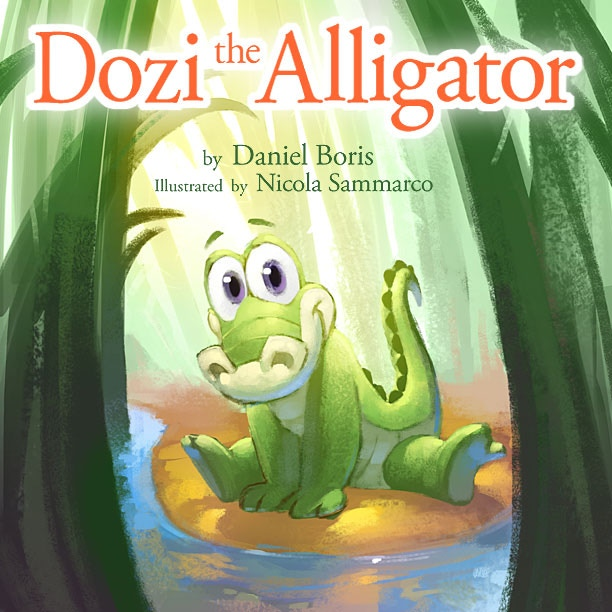 The story of a little alligator named Dozi, written by Daniel Boris and beautifully illustrated by artist Nicola Sammarco.