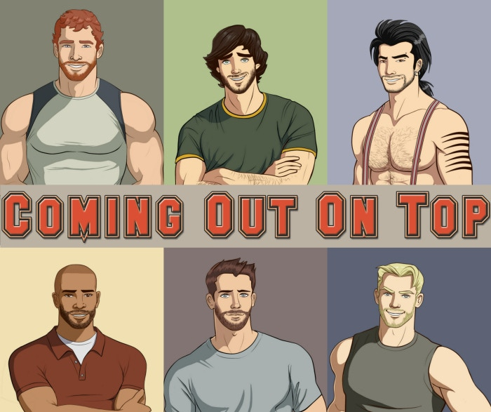 Coming Out On Top - A Gay Dating Sim Video Game by Obscura