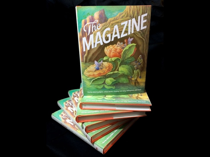 The Magazine made a beautiful hardcover anthology with our backers' help. You can order a copy while limited supplies last. Ships immediately worldwide.