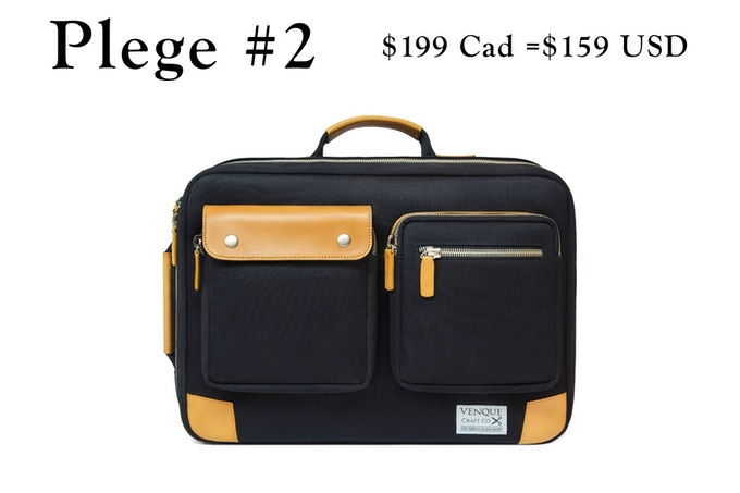 Briefpack Utility XL- Black