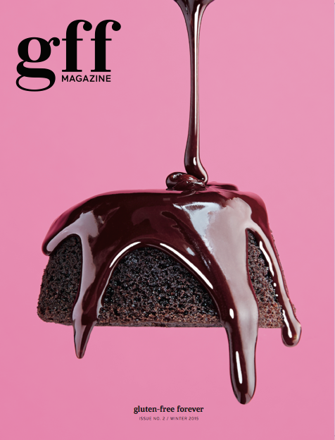GFF is a quarterly print magazine that bridges the gap between captivating, world-class food magazines and gluten-free living.