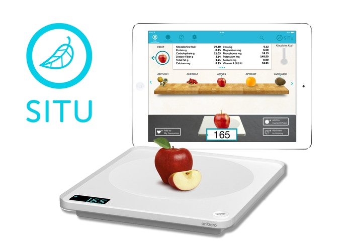 Situ Smart Food Nutrition Scale For Ipad And Android Tablets By