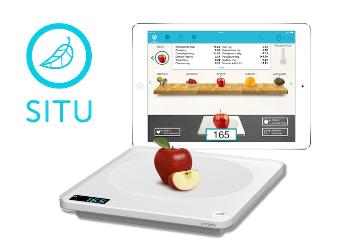 SITU weighs your food in calories and nutrients in addition to grams and ounces.  ************ (PLEASE NOTE: This campaign is finished and no longer monitored by the creators). ********