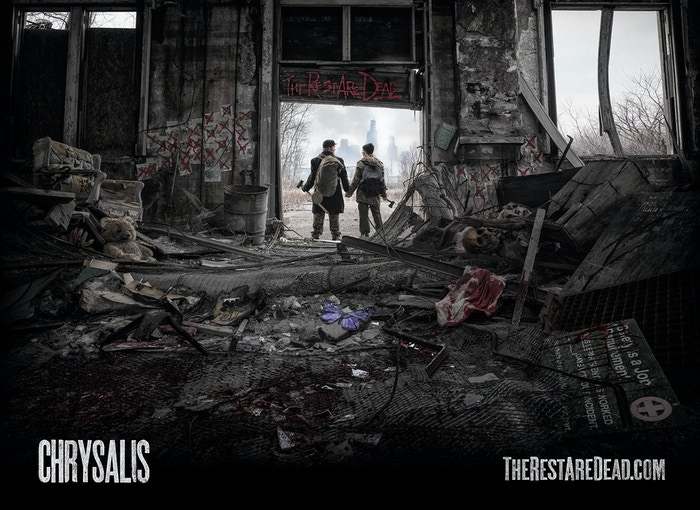 Chrysalis is a post-apocalyptic horror film in the vein of 28 Days Later and The Road, produced by the award-winning Glass City Films.