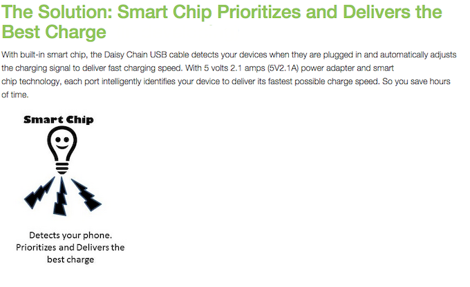 The Solution: Smart Chip Prioritizes and Delivers the Best Charge