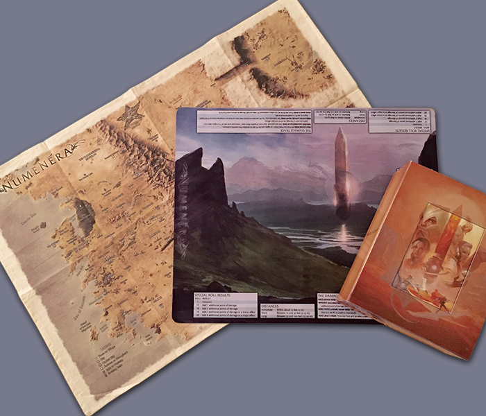 The award-winning Numenera RPG from Monte Cook presented in an exclusive, deluxe boxed format with loads of incredible extras.