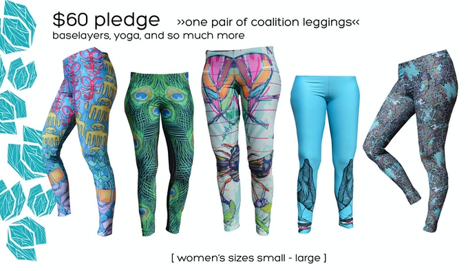 $60 Pledge | Leggings | Handcrafted Start to Finish in Montreal | Click For More Pics