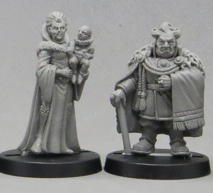 Lady Greiss, Creaster and Lord-Governor Manduc Greiss