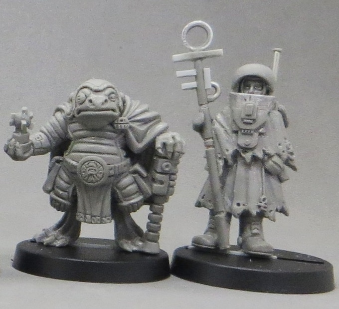 Amphiran Emmissary Barcoon Krobosh and Pilgrim Wandering Alexei