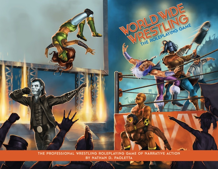 Create iconic wrestlers, play out exciting matches in the ring and go behind the scenes, all in this RPG of narrative wrestling action.