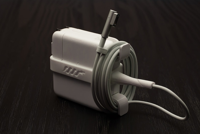 Prevent your Mac, PC, and Tablet chargers from breaking, all while keeping things organized. More info at: pythoncords.com