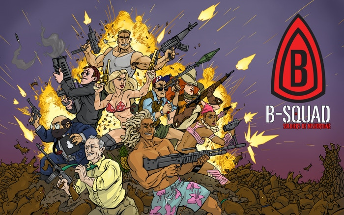 Volume Two is on Kickstarter until March 19th! Learn more about the new adventures of  B-Squad today!