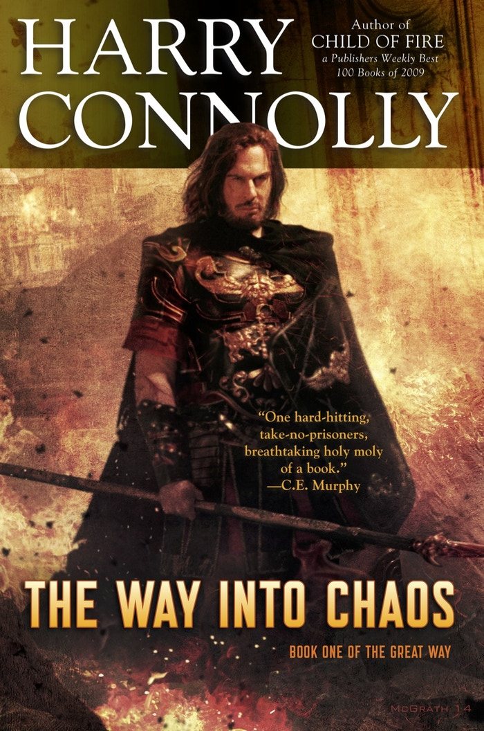 The Great Way is an epic fantasy trilogy about a supernatural invasion that destroys an empire.
