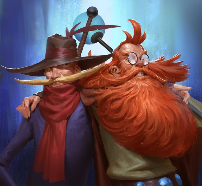 Epic Wilhelm and Vito have become legendary heroes travelling the lands... yet one major event still awaits these old high-fiving bros - An evil has spread across the lands and many other heroes have failed to stop it.